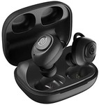 Noise Shots X5 PRO Bluetooth Truly Wireless Earbuds, 150 Hrs Playback with Qualcomm AptX and in-Built Powerbank for Reverse Charging (Charcoal Grey)