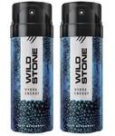 Wild Stone HYDRA ENERGY ( PACK OF 2) Deodorant Spray
