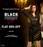 Faballey Black Friday Sale- Flat 50% Off + Extra 10% Off On Clothings