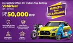 Droom Month End Clearance Sale (27-30 Nov) | Upto 50000 Off on Top selling vehicles
