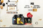 HealthKart The Fitness Revolution Sale | Flat 50% off on Wellness products | Upto 40% off + 10% Extra off on Whey Proteins & Gainers
