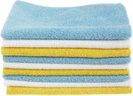 AmazonBasics Microfiber Cleaning Cloth - 222 GSM (Pack of 12)