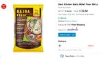Desi Kitchen Bajra Millet Flour 500 g
