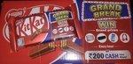 Live - Kitkat Grand Break Win Grand Prizes