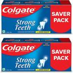 Colgate Strong Teeth Anticavity with Amino Shakti Toothpaste  (1000 g, Pack of 2)