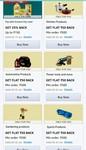 Flat 125 cashback on min 500 on certain products on Amazon (product suggestions inc. 50+75 cashback)