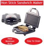 Lifelong 116 GRILLER 4 slice Slices Sandwich Maker - Black