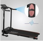 FITKIT FT097 Steel 1 HP Motorized black (Free Installation) Treadmill