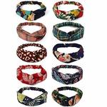 Fabric Cross Knot Stretchable Hairband