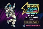 Pepperfry Flash Sale 6.30 - 8.09 ONLY : Flat Rs.2001 off on All Order worth Rs.9999 & Above