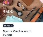 Myntra ₹500 Gift Voucher Using 1499 Myntra Insider Points Back In Stock
