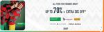 Get Up to 70% + Extra 30% on Vero Moda, Tommy Hilfiger & More Brands