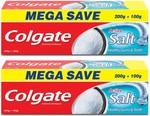 Colgate Active Salt Toothpaste 300gx2 (total 600g)