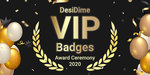 [Vote] Desidime VIP Badges Award Ceremony - for the year 2020