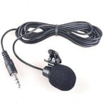 Like Star 3.5mm Clip Microphone For Youtube | Collar Mike for Voice Recording | Lapel Mic Mobile, PC, Laptop, Android Smartphones, DSLR Camera Microphone Microphone