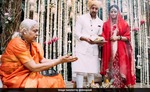 Woman priest conducts Dia Mirza wedding
