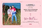 Last Day Ajio Iconic Fashion Sale - Flat 50% To 85% Off on Top Brands