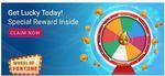 App Only Flipkart Wheel of fortune - Win Extra Rewards