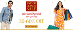 Last Day Myntra End of Season Sale Weekend Special : Upto 60% off
