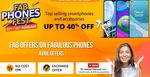 [Last Day] Amazon Fab Phone Fest - Get Up to 40% Off + 10% Off via Kotak Credit Cards