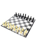 Ratna's Classic Strategy Game Little Chess and Ludo 2 in 1. enhances Strategy Building and Concentration