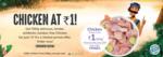Buy Above Rs.399 Get Half Kg Chicken @ 1
