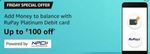 Amazon Pay Add / Load Money - Get 20% off upto 100 every friday per card per month using RuPay Platinum Debit Card: