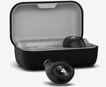 Boult Audio AirBass PowerBuds True Wireless Earphones with Magnetic Charging Case (Black)