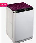 Lloyd LWMT65RGS 6.5 kg Fully Automatic Top Load Washing Machine (White)