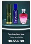 DENVER, Nivea & More Brands Fragrances Up to 60% Off + Buy ₹1000 more, save extra ₹100
