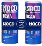 NOCD Pack of 2 Energy Drink Berry Flavour Pack of Two Bottle, 2 x 250 ml
