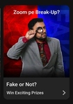 Flipkart Video Presents Fake or Not - 7th April - Win coupons, supercoins