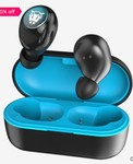 Ant Audio Wave Sports TWS 750 Wireless Bluetooth Earpods (Blue and Black)