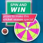 Amazon SPIN AND WIN prizes to make this cricket season special
