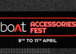 boAt Accessories Fest: Starting At Just Rs. 99 [ Valid Till 11th April 2021 ]