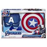 Marvel Avengers Captain America Role-Play Set (Captain America Mask and Magnetic Shield Toy for Role Play)