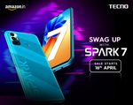 Tecno Spark 7 Introductory price @ 6999 - first sale 16 April