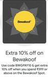 Extra 10% Off On Bewakoof Spot Via Google Pay