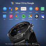 Mobvoi TicWatch Pro 2020 SmartWatch with 1GB RAM - Black (30-Days Battery Life)