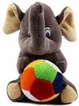 Babique Elephant Stuffed Soft Toy Plush for Kids Baby Boy Girl Birthday (19Cm)