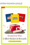 Myntra IPL Special : Scratch & Win Discount ( Collect Sticker & Reward)