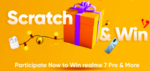 Realme : Scratch & Win Realme 7 Pro & More ( Assured Prize) On Scratch & Win