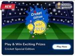 Flipkart Daily Trivia Quiz Answers for 15th Apr'21 – Win 25-100 Gems – IPL EDITION