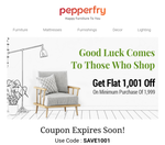 (User Specific) Get Flat Rs.1001 off on Rs.1999/-