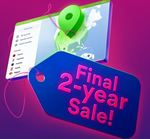 Final sale: 2-year deal with 68% off