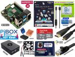 PiBOX India Easy cool Raspberry PI 4 4GB Mini Computer Combo - With Rs.500 coupon + Additional 1.1% off
