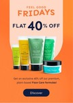 Arata Feel Good Friday : Flat 40% Off Our Face Care Formulas