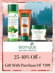 Minimum 40% off on Boutique Products + Free gifts on Order Rs.399