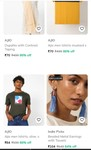 80% Off - Ajio (Clothing, Footwear, Accessories) Min 80% off from Rs.70 @ Ajio