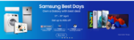 SAMSUNG BEST DAYS - get upto 45% off + extra 4500 off via App + 10% Cashback via HDFC